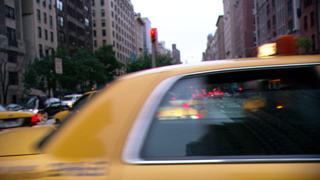 cpov / side view / daytime driving through upper east side of manhattan / new york city / ny ny - apt stock videos and b-roll footage