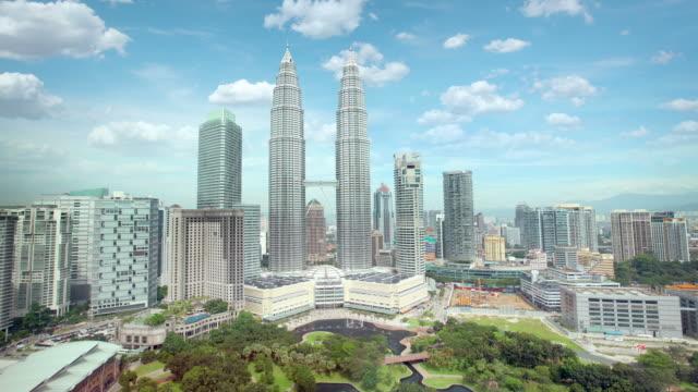 Daytime Kuala Lumpur Skyline