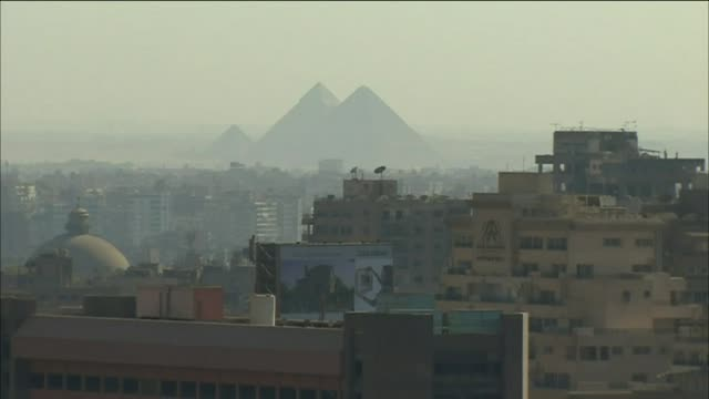 daytime landscape and aerial views of cairo - cairo stock videos & royalty-free footage