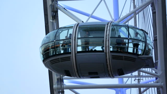 Daytime Shot of a car on the London Eye
