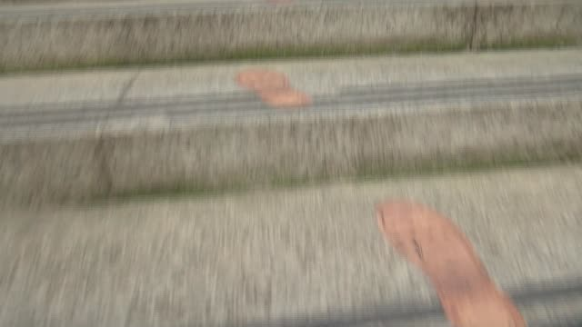 soldier's footprints placed around city landmarks in tribute england london ministry of defence shot of shoe prints on ground martin barraud... - department of defense stock videos & royalty-free footage