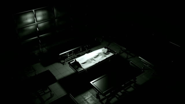 dead body in morgue on steel table. - death stock videos & royalty-free footage