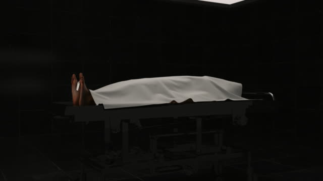 Dead Body on the Autopsy Table