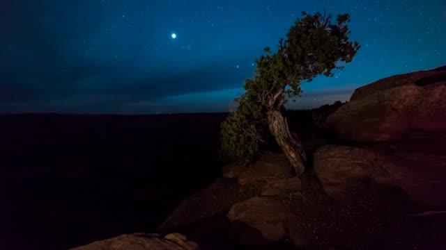 Dead Horse Canyon Moonrise Time Lapse