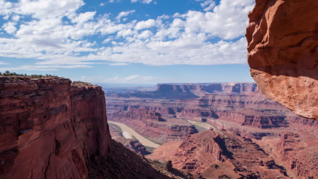 """dead horse point in moab, utah"" - canyonlands national park stock videos & royalty-free footage"