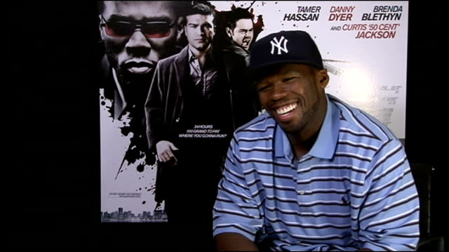 'dead man running' interviews 50 cent interview continued sot - fifty cent coin stock videos and b-roll footage