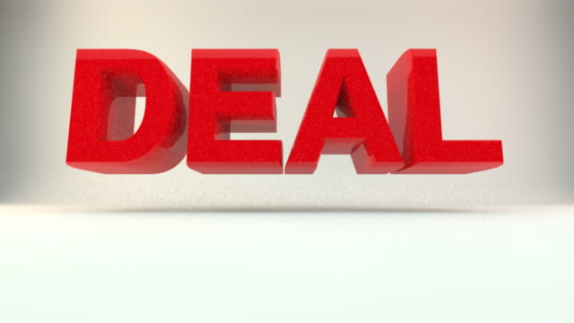 deal crasher - western script stock videos & royalty-free footage