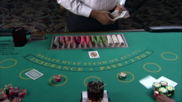 dealer in casino - casino people stock videos & royalty-free footage