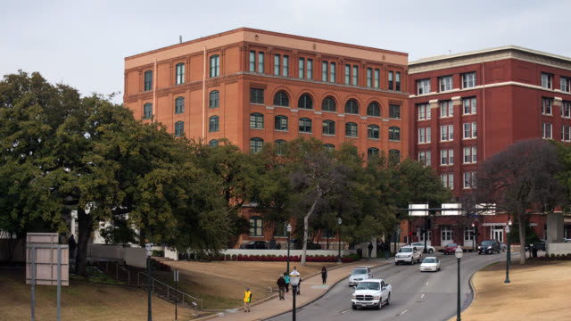 dealey plaza - assassination of john f. kennedy stock videos and b-roll footage