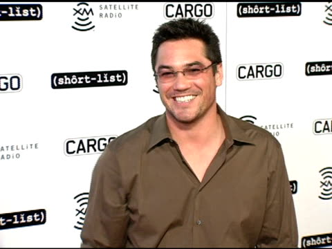 dean cain at the short list of music awards show afte-party hosted by cargo magazine and xm at spider club in los angeles, california on november 15,... - house spider stock videos & royalty-free footage