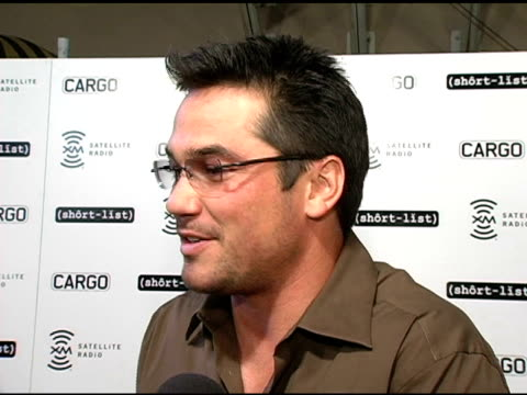 dean cain on the cargo event and cargo magazine at the short list of music awards show afte-party hosted by cargo magazine and xm at spider club in... - house spider stock videos & royalty-free footage
