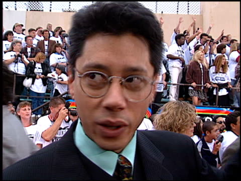 dean devlin at the 'independence day' premiere on june 25, 1996. - 1996 stock videos & royalty-free footage