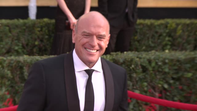 dean norris at 20th annual screen actors guild awards - arrivals at the shrine auditorium on in los angeles, california. - shrine auditorium stock videos & royalty-free footage