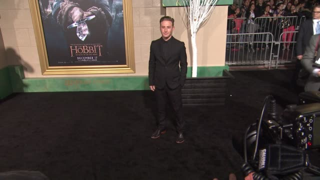 "dean o'gorman at ""the hobbit: the battle of the five armies"" los angeles premiere at dolby theatre on december 09, 2014 in hollywood, california. - the hobbit: the battle of the five armies stock videos & royalty-free footage"