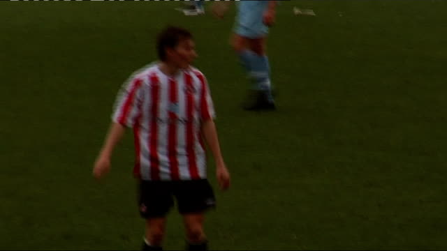 Dean Whitehead playing for Sunderland reserves ENGLAND Sunderland Dean Whitehead playing in reserves match