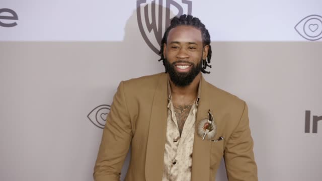 DeAndre Jordan at the Warner Bros Pictures and InStyle Host 19th Annual PostGolden Globes Party at The Beverly Hilton Hotel on January 7 2018 in...
