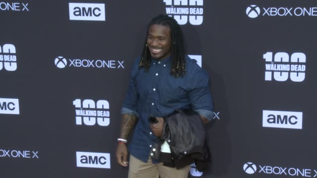 DeAngelo Williams at the AMC's The Walking Dead 100th Episode Season 8 Special Premiere Screening at The Greek Theatre on October 22 2017 in Los...