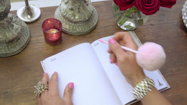 dear diary - diary stock videos & royalty-free footage