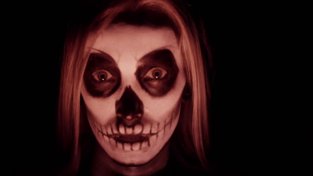 death/ debica/ poland - halloween stock-videos und b-roll-filmmaterial