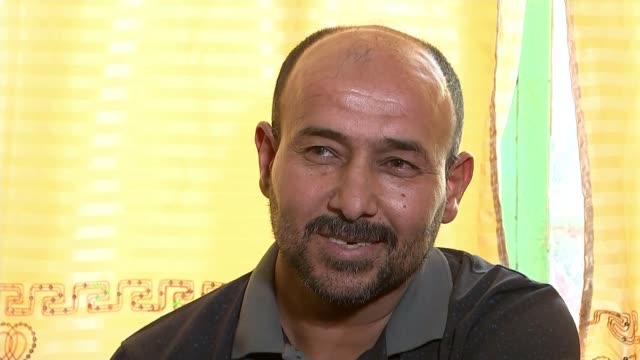 death toll from baghdad suicide bomb attacks rises to 200 divisions in the country iraq basra zeynab hamid terash interview sot reporter sat in room... - bassora video stock e b–roll
