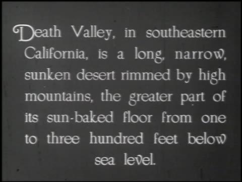 death valley - 1 of 14 - andere clips dieser aufnahmen anzeigen 2335 stock-videos und b-roll-filmmaterial
