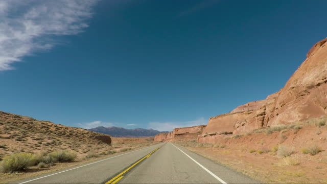 Death Valley desert Artist Drive - Road trip in the United States
