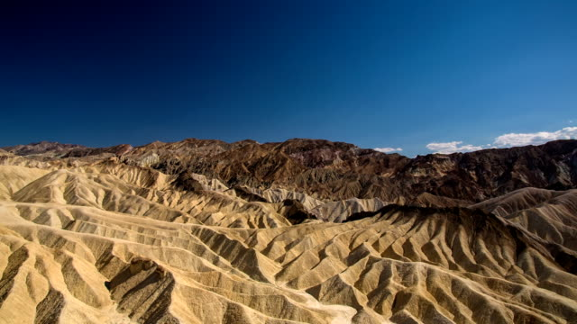 death valley desert zabriskie point - zabriskie point stock videos & royalty-free footage