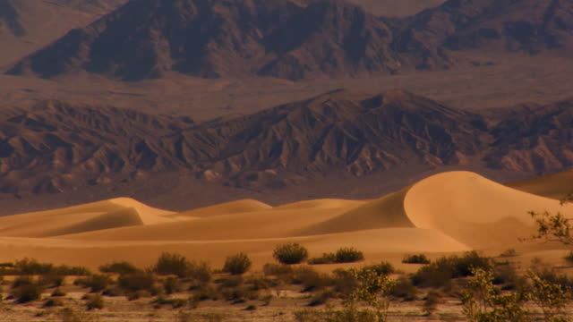 death valley dunes cu 1 - wide shot stock videos & royalty-free footage