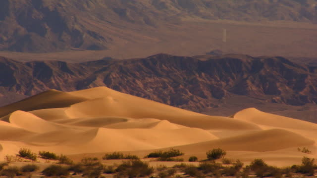 death valley dunes cu 2 - wide shot stock videos & royalty-free footage