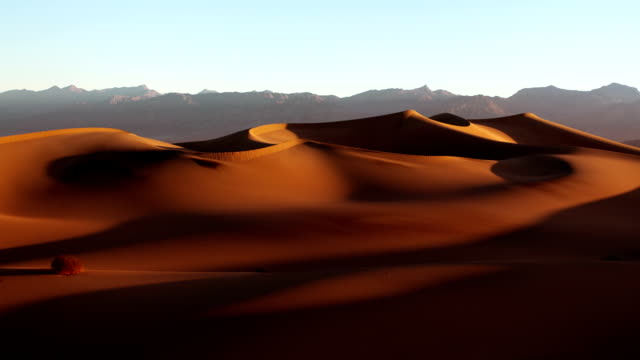 death valley dunes at sunrise - desert stock videos & royalty-free footage