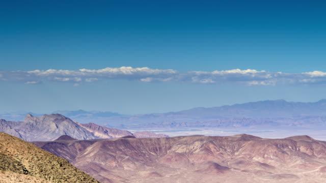 Death Valley Landschaft - Zeitraffer