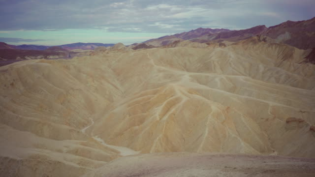 death valley national park: zabriskie point - zabriskie point stock videos & royalty-free footage