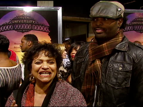 Debbie Allen and Choreographer Dave Scott on the dancing in this film introducing stepping to the mainstream at the Stomp the Yard Premiere at the...