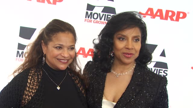 Debbie Allen and Phylicia Rashad at the AARP The Magazine's 10th Annual Movies For Grownups Awards at Beverly Hills CA