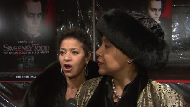 Debbie Allen and Phylicia Rashad on what brings them out tonight what they are expecting from the film how this is a different kind of musical that...