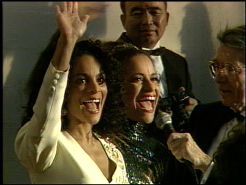 debbie allen at the 1991 academy awards at the shrine auditorium in los angeles, california on march 25, 1991. - debbie allen stock videos & royalty-free footage