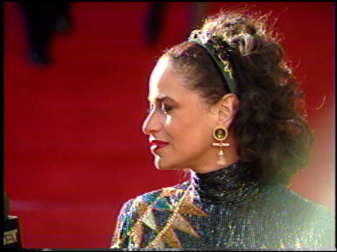 debbie allen at the 1991 academy awards at the shrine auditorium in los angeles, california on march 25, 1991. - shrine auditorium stock videos & royalty-free footage