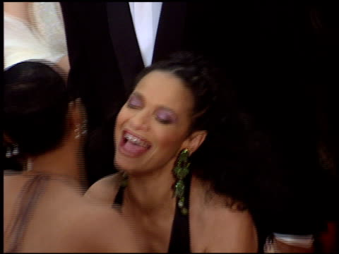 debbie allen at the 1998 golden globe awards at the beverly hilton in beverly hills california on january 18 1998 - debbie allen stock videos & royalty-free footage