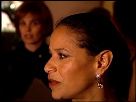 debbie allen at the 1998 producers guild of america awards at the beverly hilton in beverly hills, california on march 3, 1998. - debbie allen stock videos & royalty-free footage
