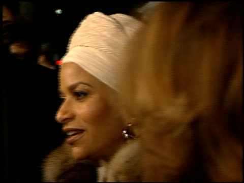 debbie allen at the 'amistad' premiere at academy theater in beverly hills, california on december 8, 1997. - debbie allen stock videos & royalty-free footage