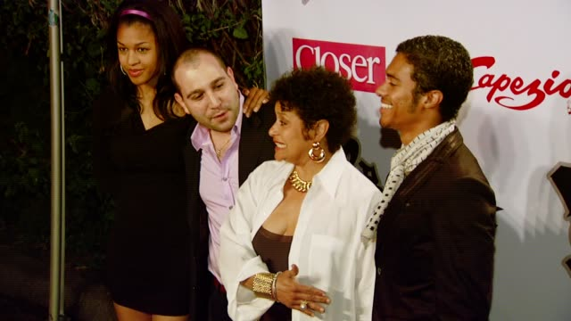 debbie allen at the birthday celebration and launch of bfree apparel and footwear collection hosted by frontline capezio at les deux in hollywood... - les deux club stock videos & royalty-free footage