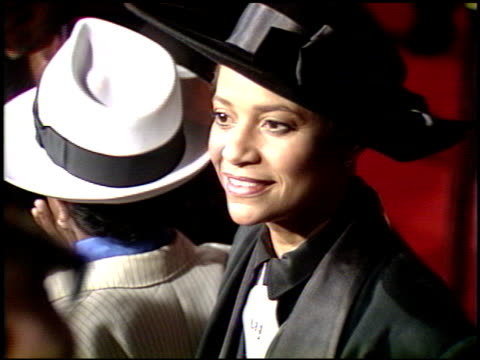 debbie allen at the 'harlem nights' premier at grauman's chinese theatre in hollywood, california on november 17, 1989. - debbie allen stock videos & royalty-free footage