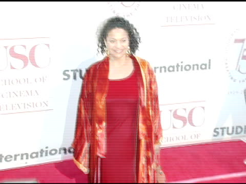 debbie allen at the usc school of film and television's 75th anniversary gala at hobart auditorium in los angeles california on september 26 2004 - debbie allen stock videos & royalty-free footage