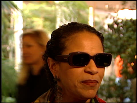 Debbie Allen at the Women in Hollywood Luncheon at the Four Seasons Hotel in Beverly Hills California on November 16 1999