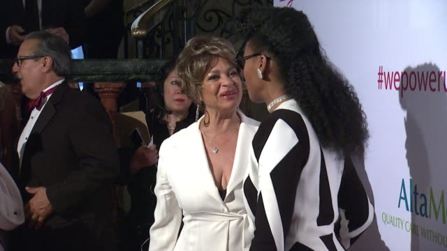 Debbie Allen Janelle Monae at AltaMed Power Up We Are The Future Gala in Los Angeles CA
