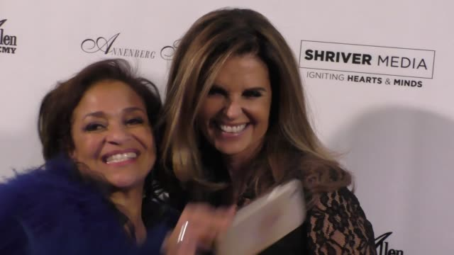 debbie allen maria shriver at the wallis annenberg center for the performing arts presents us premiere of debbie allen's freeze frame in beverly... - debbie allen stock videos & royalty-free footage