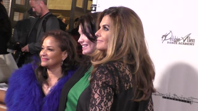 debbie allen nicole hockley maria shriver at the wallis annenberg center for the performing arts presents us premiere of debbie allen's freeze frame... - debbie allen stock videos & royalty-free footage