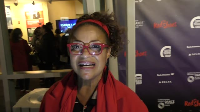 interview debbie allen norm nixon talk about how her career started at the red shoes opening night at ahmanson theatre in los angeles in celebrity... - debbie allen stock videos & royalty-free footage