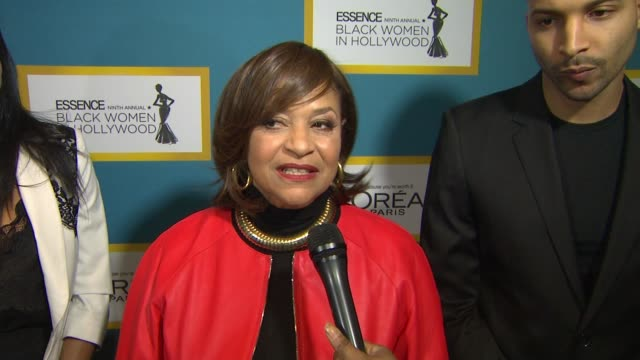 debbie allen on being honored by essence, on camaraderie at luncheon, why it's important that essence honors bwih each year, lack of diversity at... - debbie allen stock videos & royalty-free footage