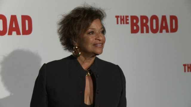 debbie allen on eli broad, the museum and on being a cultural and arts centerpiece at the the broad museum inaugural celebration at the broad on... - debbie allen stock videos & royalty-free footage